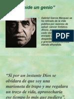 Gabriel Garcia Marquez - ADIOS.