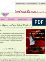 """Sweet review for """"The Mystery of the Solar Wind"""" pirate novel"""