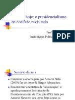 Amorin Neto-2003-Presidencialismo de coalizão revisitado