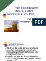 Mainwaring-1993-Democracia presidencialista