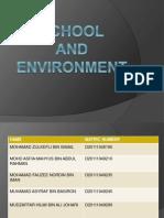 Sekolah Dan Persekitaran (1)