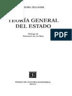Jellinek Georg Teoria General Del Estado