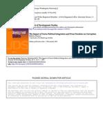 The Impact of Socio-political Integration