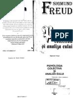 Freud - Psihologia Colectiva Si Analiza Eului