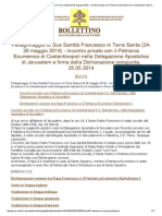 Pellegrinaggio di Sua Santità Francesco in Terra Santa.pdf
