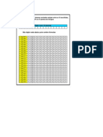 Planilha Lotofacil - 18 Dezenas 14 Pontos Garantidos