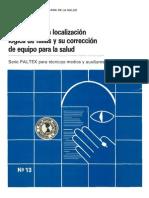 Manual Para La Localizacion La Localizacion de Falla Salud