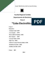Trabajo Practico 2-Cuba Electrolitica(Grupo 1)