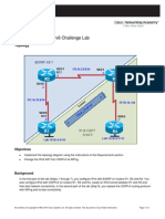 CCNPv6 ROUTE Lab8-4 IPv6 Challenge Student