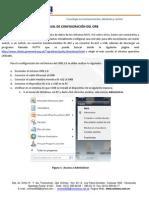 Manual de Configuracion ORB