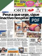 Periódico Norte edición del día domingo 15 de junio de 2014