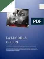 LA LEY DE LA OPCION.docx