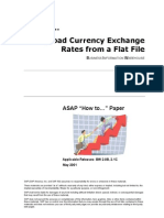 How to... Upload Currency Exchange Rates From a Flat File