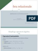 3 - RiepilogoAlgebra_Ottimizzazione