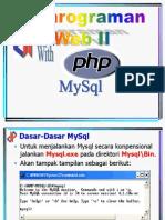 Week13 Pemrograman Web II with PHP, MySQL