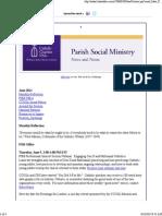 June 2014 Catholic Charities USA Parish Social Ministry Newsletter