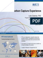 RTI's Carbon Capture Experience