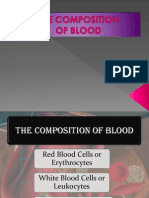 2.Composition of Blood