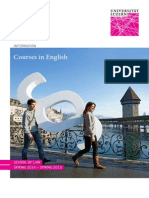 Courses in English