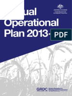 GRDC Annual Operational Plan 2013-14