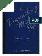 McCall - Dressmaking Made Easy - 1939