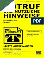 SWA M 8184 Bachenbülach Winkel 14