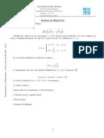 Certamen 2 de Calculo 1
