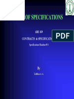 Course Presentations 7 3 Types of Specifications
