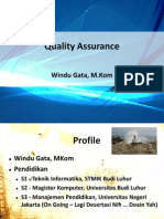 Quality Assurance - Software Engineering - Revisi