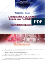 Configuration Dun Serveur Samba Sous Red Hat Linux