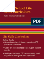katie spencer life skills curriculum middle school