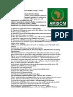 AMISOM trains Somali Police Force