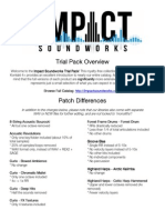 Impact Soundworks Trial Pack Overview