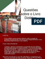 Questoes Sobre Livro Didatico-1