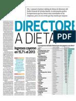 Directores a Dieta_Día 1 El Comercio 16-06-2014