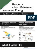energy resources presentation