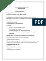 Formato de Plan de Clase Abril 11