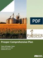 Prosper Comprehensive Plan 2012