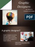graphic designer updated