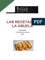 Las Recetas de La Abuela.doc Romero Rocío Catàleg Competic2