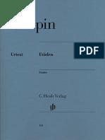 Chopin - 27 Etudes - Henle Urtext Edition.pdf
