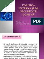 Politica Externă Şi de Securitate Comună