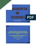 Materia N 1 Fund. de Econom a CAHP