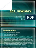 Wimax Entry Overview