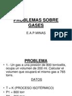 Problemas Sobre Gases