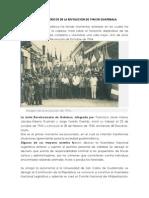 Hechos Historicos de La Revolucion de 1944 en Guatemala