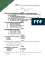 75250153 Teste Examen Farmacologie USMF 2011