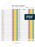 15 Minute Time Tracker