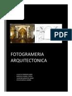 Fotogramnetria Arkitectonica Ultimo