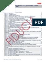 Regles Et Usances Uniformes en Matiere de Credoc - Ruu 600